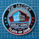 JOE JACOBY NFL SUPERBOWL HALL OF FAME 2018 PRO FOOTBALL PATCH EMBROIDERED