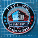 RAY LEWIS PRO FOOTBALL HALL OF FAME PATCH NFL HOF CLASS 2018 CANTON OHIO SUPERBO