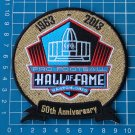 PRO FOOTBALL HALL OF FAME 50th ANNIVERSARY CANTON OHIO PATCH EMBROIDERED SUPERBO