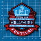 PRO FOOTBALL HALL OF FAME ENSHRINEMENT FESTIVAL CANTON OHIO PATCH EMBROIDERED