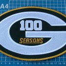 100 Seasons Green Bay Packers NFL Football TeamHuge Superbowl Patch embroidery