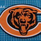 "CHICAGO BEARS C 10"" HUGE FOOTBALL NFL SUPERBOWL PATCH EMBROIDERED JERSEY"