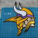 "MINNESOTA VIKINGS 10"" NFL FOOTBALL SUPERBOWL PATCH EMBROIDERED JERSEY"