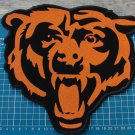 "CHICAGO BEARS NFL FOOTBALL SUPERBOWL 10"" HUGE PATCH EMBROIDERED JACKET"