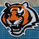 "CINCINNATI BENGALS NFL FOOTBALL SUPERBOWL HUGE 10"" PATCH EMBROIDERED JACKET"