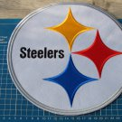 "PITTSBURGH STEELERS FOOTBALL NFL SUPERBOWL10"" HUGE PATCH JERSEY EMBROIDERED"