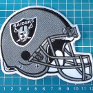 """OAKLAND RAIDERS FOOTBALL NFL SUPERBOWL 5"""" HELMET PATCH SEW ON EMBROIDERY JERSEY"""
