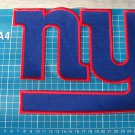 "NEW YORK GIANTS FOOTBALL NFL SUPERBOWL PATCH HUGE 9"" BACK SEW ON EMBROIDERY"