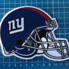 """NEW YORK GIANTS FOOTBALL NFL SUPERBOWL 5"""" PATCH HELMET JERSEY SEW ON EMBROIDERY"""