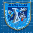 "APOLLO X (10) ""POST-FLIGHT"" CREW PATCH SPACE NASA STAFFORD YOUNG CERNAN EMBROIDERED"