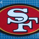"SAN FRANCISCO 49ers NFL SUPERBOWL FOOTBALL HUGE 10"" LOGO PATCH SEW ON EMBROIDERY"