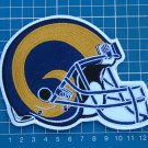 ST. LOUIS RAMS FOOTBALL NFL SUPERBOWL LOGO PATCH HELMET JERSEY SEW EMBROIDERED