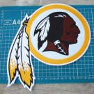 "WASHINGTON REDSKINS NFL FOOTBALL SUPERBOWL PATCH 10"" HUGE JERSEY EMBROIDERED"