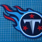 "TENNESSEE TITANS FOOTBALL NFL SUPERBOWL 10"" HUGE LOGO PATCH EMBROIDERED JERSEY"