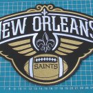 """NEW ORLEANS SAINTS PELICANS NFL FOOTBALL LOGO 10"""" JERSEY PATCH SEW EMBROIDERY"""