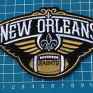 "NEW ORLEANS SAINTS PELICANS NFL FOOTBALL LOGO 4"" JERSEY PATCH SEW EMBROIDERY"