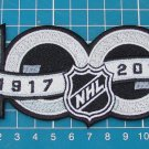 National Hockey League NHL 100th Anniversary Centennial Hockey Jersey Patch Embr