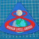 "NASA Apollo Program Apollo 8 Borman Lovell anders Patch US Space 4"" embroidered"