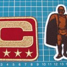 ARIZONA CARDINALS TEAM LEADER 4⭐CAPTAIN C + Walter Payton Man of Year Patch Football