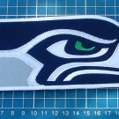 "Seattle Seahawks Football NFL Superbowl logo patch huge 9.6"" Jersey Embroidered"