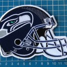 "SEATTLE SEAHAWKS HELMET NFL FOOTBALL SUPERBOWL 5"" PATCH JERSEY SEW EMBROIDERED"