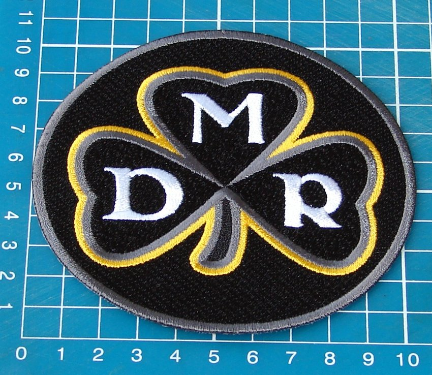 DMR PITTSBURGH STEELERSDAN ROONEY COMMEMORATIVE PATCH NFL FOOTBALL EMBROIDERED