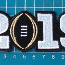 2019 College Football Championship Patch Clemson Tigers vs Alabama Crimson Tide