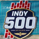 "2019 Indy 500 Indianapolis 103rd racing logo 10"" Huge patch Jacket embroidered"