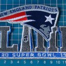 2019 Superbowl Super bowl LIII 53rd New England Patriots Jersey Patch Embroidery