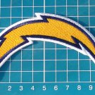 "San Diego Chargers Logo Patch NFL Football Jersey 4"" Sew on Embroidery"