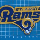 "Los Angeles Rams superbowl NFL football logo 5"" patch jersey embroidered"