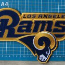 "Los Angeles Rams Huge Patch NFL Football Jersey 10"" sew on embroidery"