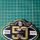 "2019 San Diego Padres 50th anniversary Baseball-MLB Patch 4.5""Jersey Embroidered"