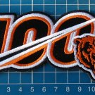 """Chicago Bears 100th Anniversary seasons logo Patch 5"""" NFL Football embroidered"""