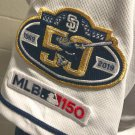San Diego Padres 50th anniversary + 150 MLB Patch 2pcs sleeve style embroidered