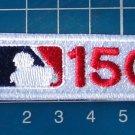 2019 MLB 150th Anniversary Season Patch Baseball logo 2pcs Jersey embroidered