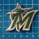 """2019 MLB Miami Marlins Camouflage Olive Green Baseball 2"""" Patch embroidered"""