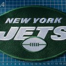 "2019 New York Jets logo NFL 10"" huge Patch Superbowl Football Jersey embroidered"