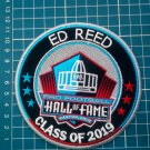 "2019 HALL OF FAME ED REED PRO FOOTBALL PATCH 4.5"" NFL CANTON OHIO SUPERBOWL"