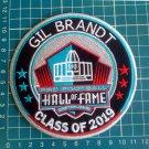 "GIL BRANDT 2019 HOF DALLAS COWBOYS PRO FOOTBALL PATCH 4.5"" NFL CANTON OHIO"