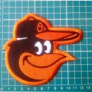 "Baltimore Orioles Bird Macot 5"" Baseball MLB logo Patch Embroidered Jersey"