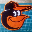 "Baltimore Orioles Bird Macot 10"" Baseball MLB logo huge Patch Embroidered Jersey"