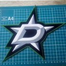 "Dallas Star NHL Hockey Huge 10"" Patch Jersey sew on embroidery"