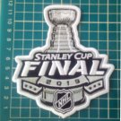 "2019 Stanley Cup Final NHL Patch 5"" sew embroidery boston bruins st louis blues"
