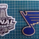 St. Louis Blues 2019 NHL Stanley Cup Final Champions logo Patch 2pcs Embroidered