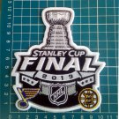 2019 NHL Stanley Cup Final Match Boston Bruins vs. St. Louis Blues Patch embroid