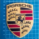 "Porsche 911 Porsche Carrera GT logo Patch Jersey 4"" embroidered German Auto Car"
