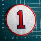 "Bobby Doerr Retired Number 1 Boston Red Sox MLB Baseball 3"" Patch embroidered"