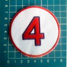 "Joe Cronin Retired Number 4 Boston Red Sox MLB Baseball 3"" Patch embroidered"