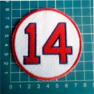 "Jim Rice Retired Number 14 Boston Red Sox MLB Baseball 3"" Patch embroidered"